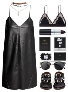 """BRYANA"" by arditach ❤ liked on Polyvore featuring Wet Seal, H&M, LoveStories, Marni, FOSSIL, Chicnova Fashion and Acne Studios"