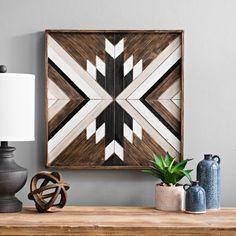 Copperwood Plank Pattern Plaque | Kirklands