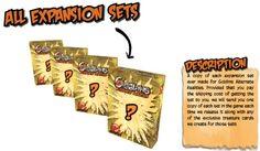 Preview of Kickstarter Reward Description for Goblins Alternate Realities: All Expansion Sets #GoblinsGame