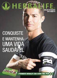 Cristiano Ronaldo e Herbalife 24. Com os produtos de nutrição Herbalife pode controlar o seu peso, melhorar os seu hábitos alimentares e ter uma vida mais activa, com mais saúde e bem estar.