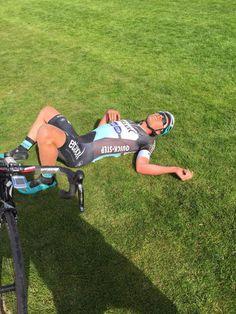 Etixx - Quick-Step @Etixx_QuickStep Exhausted riders after giving their all. @yveslampaert @zdenekstybar #ParisRoubaix pic.twitter.com/0rOi0rfh9A