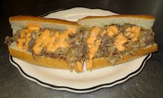 Chef JD's Street Vender Food: Reuben Cheesesteak
