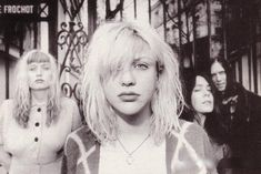 Courtney Love -1991 Hole's original 'Pretty on the Inside' line-up