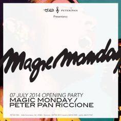 Arriva il Magic Monday al Peter Pan Riccione!!