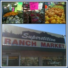 Superstition Ranch Market, Mesa, AZ.  Could be the cheapest produce in the USA.