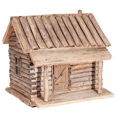 Vintage Miniature Log House, 1940