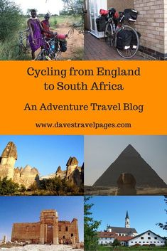 An adventure travel blog, following a 10 month journey cycling from England to South Africa. Have you ever wondered what it may be like, to cycle around the world? Read the article to find out more.: