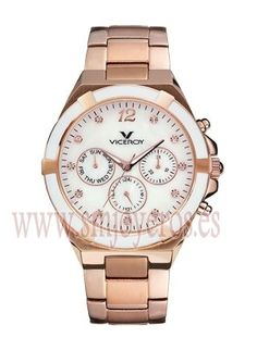 4ee6b21fe6fd Reloj Viceroy colección FEMME COLLECTION de Mujer.   Caja de acero e Ip  rosa.