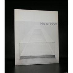 Kunsthalle Tubingen # KLAUS HEIDER #1975, mint-
