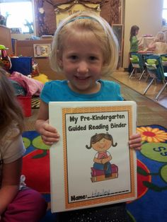 The Crazy Pre-K Classroom: Individual Guided Reading Binders: How to Kick start your reading groups!