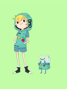Gaby — Finn the human Adventure Time Steampunk, Fanart, Finn The Human, Jake The Dogs, Adventure Time Finn, Game Character Design, Video Game Characters, Princess Bubblegum, Cute Comics