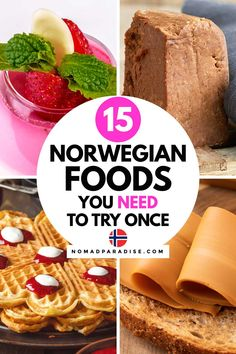 Norwegian Cuisine, Norwegian Waffles, Norwegian Food, Norway Food, Viking Food, Finnish Recipes, Norwegian Christmas, Scandinavian Food, World Recipes