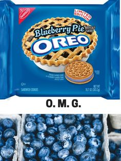 I really have no other words. YUM! #oreo #cookies #blueberries #affiliate