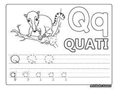 Meu livrinho do alfabeto2 – Atividades Pedagógicas Suzano Math Equations, Alice, Literacy Activities, Alphabet Book, Lyrics, Note Cards, Day Planners