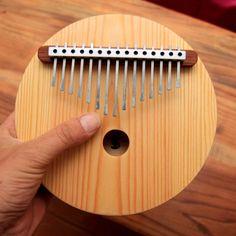 Acoustic Kalimba 15 key Proper harmonic by Silyavski on Etsy Major Scale, Kalimba, Custom Engraving, Wood Colors, Musical Instruments, Acoustic, Crafts, Pan Flute, Design