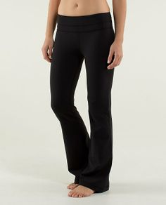 lululemon makes technical athletic clothes for yoga, running, working out, and most other sweaty pursuits. Ponte Pants, Slim Pants, Athletic Outfits, White Tees, Yoga Pants, Lululemon, Pajama Pants, Workout, Shopping