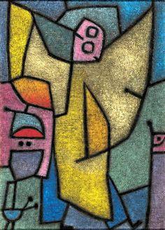Angelus Militans, by Paul Klee (1940)