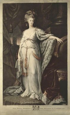 Anne (Luttrell), Duchess of Cumberland. Valentine Green, published by John Brydon, after Thomas Gainsborough, and after Richard Cosway.