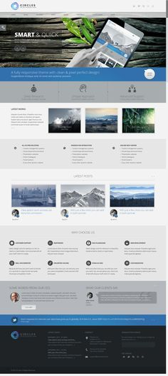 Circles - Retina Responsive Multi-Purpose Theme http://themeforest.net/item/circles-retina-responsive-multipurpose-theme/4739370?ref=wpaw #web #design #wordpress