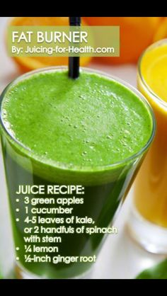 Mean green juice.                                                       …fat bunner