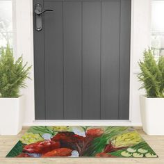 FYNBOS Welcome Mat Durable, Mats, Cleaning Wipes, Decor Styles, Home Decor