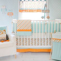 My Baby Sam Penny Lane 3-piece Crib Bedding Set | Overstock.com Shopping - The Best Deals on Bedding Sets