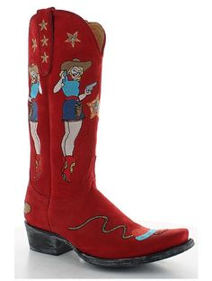 Rivertrail Mercantile - Old Gringo Cowgirl Guns Red L2458-2, $499.00…