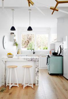 Même les petites cuisines peuvent être trendy !