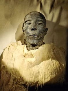 """Mummy of Seti I, father of Ramses II, New Kingdom from Egypt's """"Valley of the Kings"""" in Egyptian Museum, Cairo. Egyptian Mummies, Egyptian Pharaohs, Ancient Egypt Mummies, Ancient Egypt History, Ancient Egyptian Art, Cairo Museum, Egypt Mummy, Arte Tribal, Valley Of The Kings"""