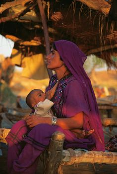 Nomad Woman in Pakistan, 6 am, 1997