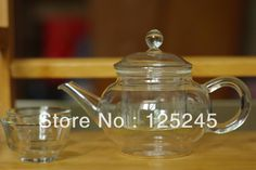 heat resistant clear glass tea pot with infuser 250ml -in Coffee & Tea Sets from Home & Garden on Aliexpress.com | Alibaba Group