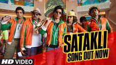 Official SATAKLI Video Song | Happy New Year | Shah Rukh Khan | Sukhwind... Dubai travelogue!