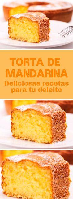 Las más ricas tortas de mandarina que jamás te hayas imaginado ¡Todas juntas en un mismo lugar! #quiero #quierocakesblog Baking Recipes, Cake Recipes, Dessert Recipes, Mexican Food Recipes, Sweet Recipes, Mexican Pastries, Bunt Cakes, Muffins, Pan Dulce