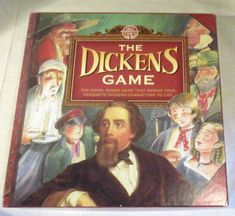 PAST TIMES THE DICKENS BOARD GAME - BRINGS YOUR DICKENS CHARACTERS TO LIFE #PastTimes