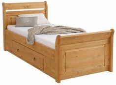 Home affaire Bett »Lotta«, in 3 Breiten + 2 Farben, mit aufwendigem Kopfteil, inkl. Bettschubladen ab 299,99€. Mit parktischen Bettschubladen bei OTTO