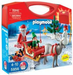 PLAYMOBIL Holiday Carrying Case Playset by PLAYMOBIL christmas.zavakanto.org
