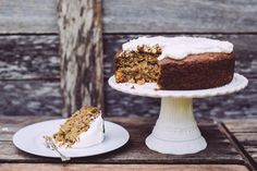 She was Had a full life. And Loved cake. This cake is dedicated to my grandmother, who passed away this week. She was Had a full life. And loved c… Hummingbird Cake, Cake & Co, New Cookbooks, Gluten Free Cakes, Vegan Sweets, Egg Free, Dairy Free, Eat, Desserts