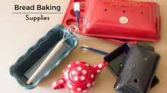Visit the Bread Experience Baking Store for bread baking supplies, ceramic bread bakers, teapots, baking tools and more.