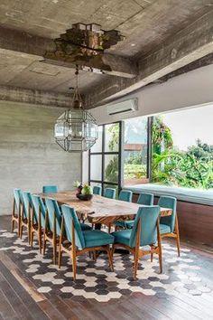 53 Inspiring Minimalist Dining Room Design - Home-dsgn Luxury Interior Design, Interior Exterior, Home Interior, Home Design, Contemporary Interior, Interior Paint, Luxury Dining Room, Dining Room Design, Interior Design Living Room