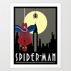 Spider-Man+Art+Print+by+Mylexxi's+Art+-+$20.00