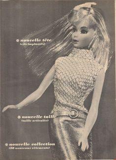 1960's twist n turn Barbie - I had the blonde & my sister had the brunette.