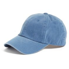 Women's American Needle Washed Baseball Cap (346.530 IDR) ❤ liked on Polyvore featuring accessories, hats, steel blue, baseball cap, six panel hat, baseball caps hats, ball cap hats and 6 panel hat