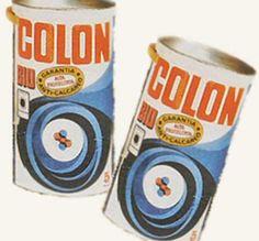 Colon. los tambores luego servían para cosas varias: guardar juguetes, tocar el tambor, en alguna pelea fraterna a tamborazo limpio,...ya reciclábamos por aquel entonces