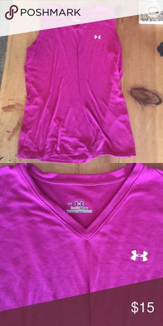 Under Armour heat gear top. SM great top Very nice muscle top size SM great for the gym or running Under Armour Tops Muscle Tees