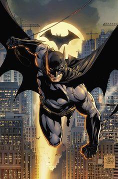 Imaginary Gotham - The art of Batman and his Universe. Batman Painting, Batman Artwork, Batman Comic Art, Spiderman Art, Joker Batman, Gotham Batman, Batman Robin, Arte Dc Comics, Dc Comics Art