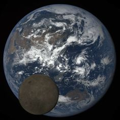 #Astronomy: A #NASA Satellite Watched as the Moon Photobombed Earth