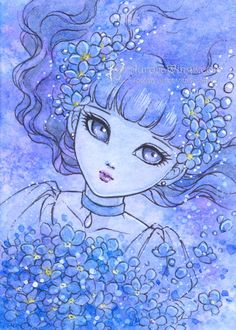 Hey, I found this really awesome Etsy listing at http://www.etsy.com/listing/155920615/open-edition-aceo-print-forget-me-not