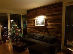 Holzwand Wohnzimmer