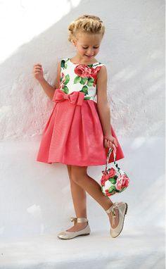 Tienda Moda Mascotas infantil y juvenil Little Dresses, Little Girl Dresses, Girls Dresses, Flower Girl Dresses, Toddler Dress, Baby Dress, Toddler Girl, Dress Set, Little Girl Fashion