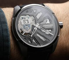 Parmigiani Senfine Concept Watch Realizes The Genequand System For Exciting New Mechanical Oscillator